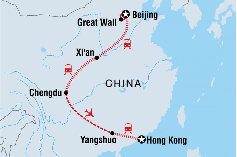 Guilin Hong Kong China Family Holiday Trip
