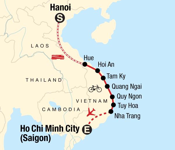 Hanoi Ho Chi Minh Cycle Vietnam's Backroads Trip
