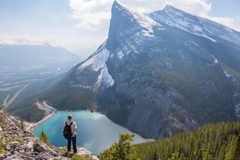 Rockies hiker lake-Canada-1834849-P