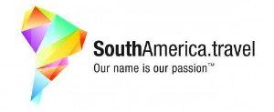 South America travel logo