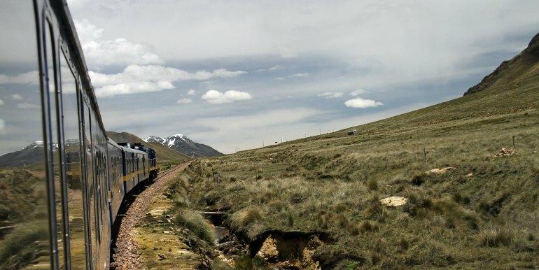 Peru rail train to Machu Picchu