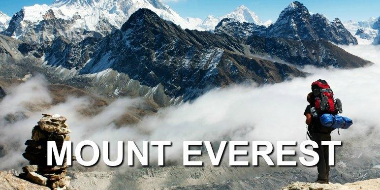 Mount Everest trek, Nepal