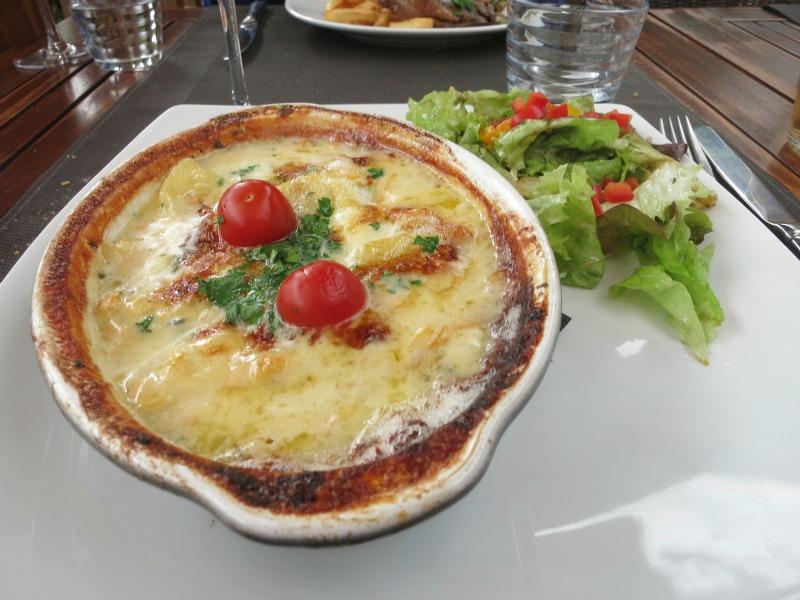 Bordeaux meal