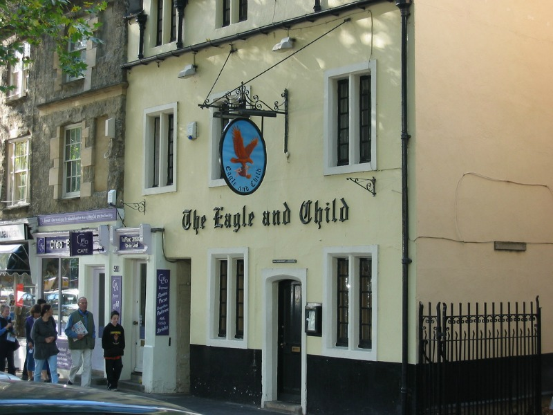 Eagle and Child Pub