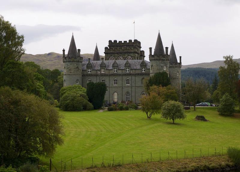 Castle in Argyle, Scotland