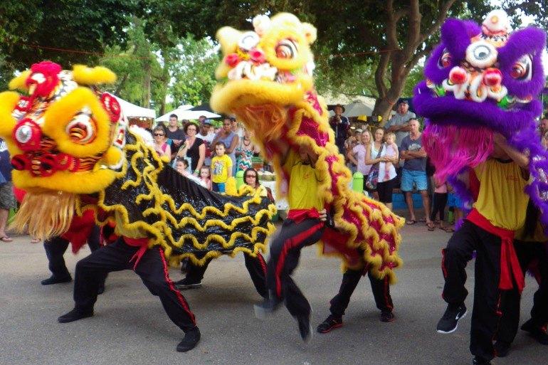 Lion Dance, China