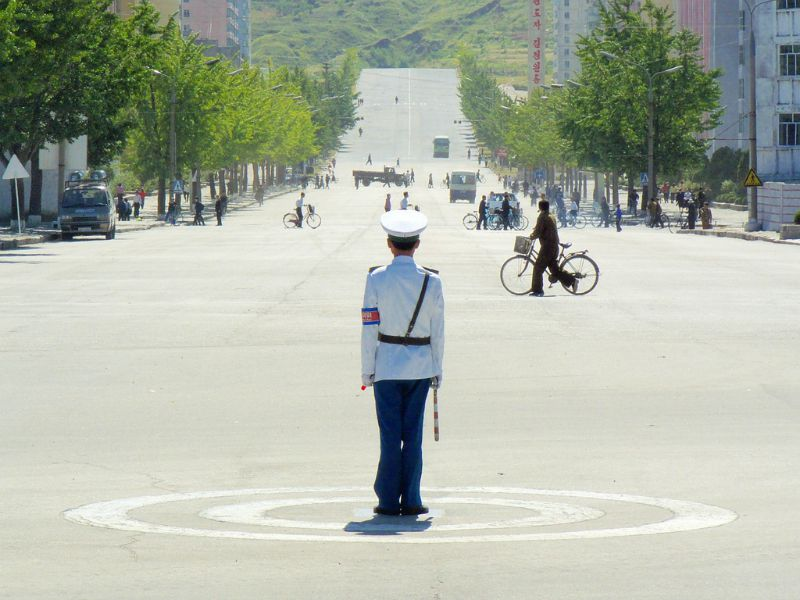 North Korea street