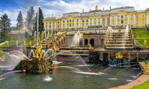 Petrodvorets Garden, Russia