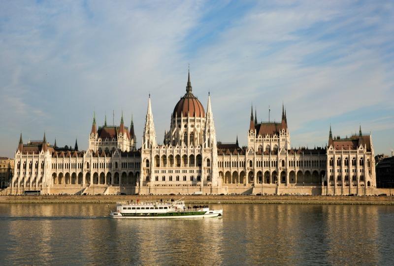 Danube River through Budapest