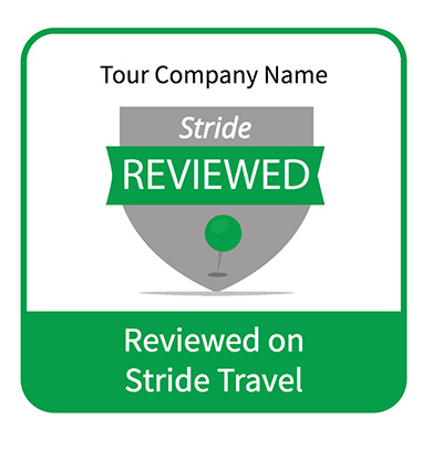stride reviewed badge preview