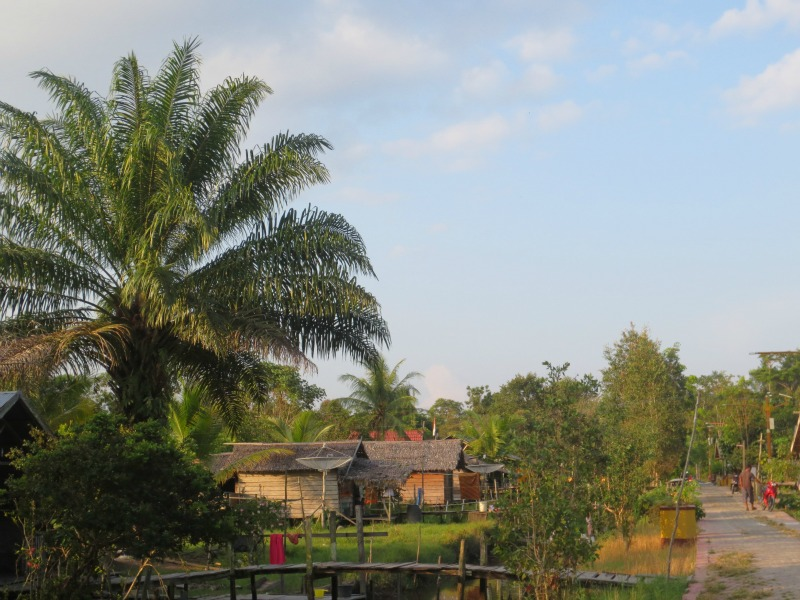 Traditional Indonesian village