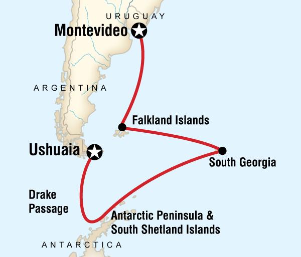 Georgia Shetland Islands Falklands, South Georgia & Antarctica Trip
