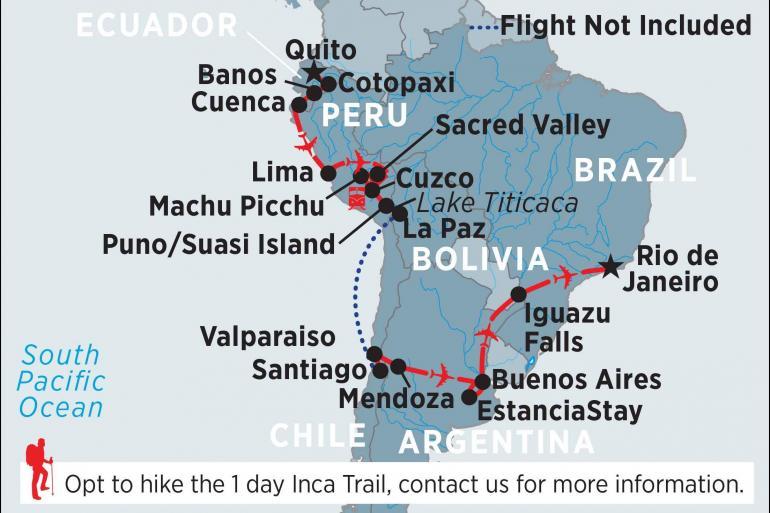 Cuenca Cusco South America in Depth Trip