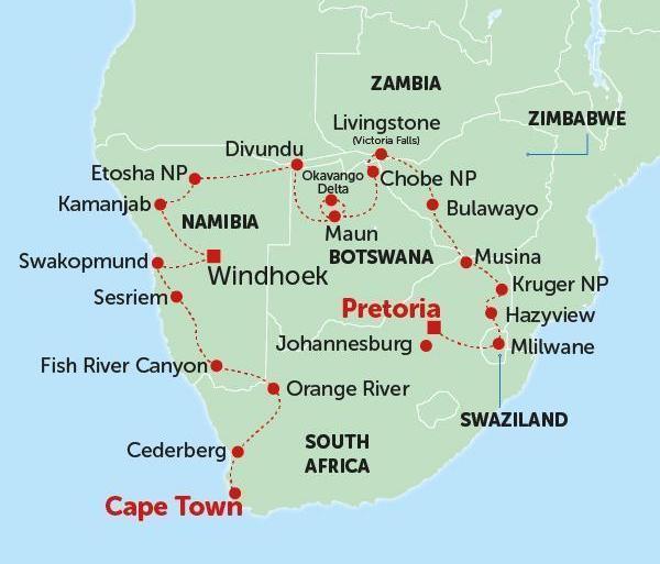 Safari Culture Kruger, Falls & Cape Town package