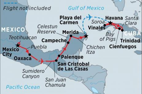 Mexico & Cuba Highlights  tour