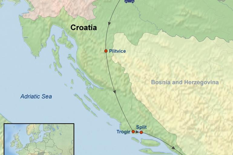 Dubrovnik Split Croatian Delight Trip
