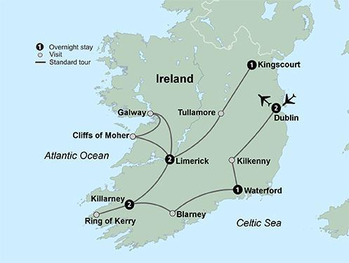 Dublin Galway Shades of Ireland featuring Northern Ireland Trip