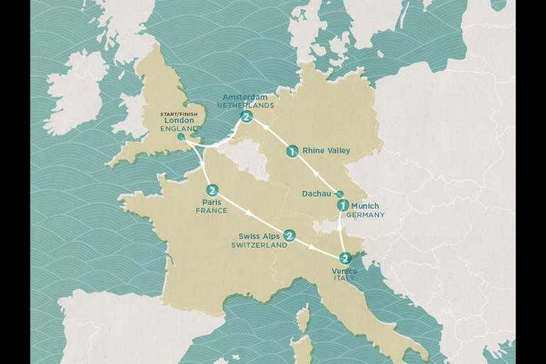 Alps Amsterdam Europe Express Trip