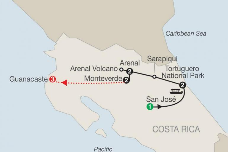 Arenal Volcano Central America Natural Wonders of Costa Rica with Guanacaste Trip