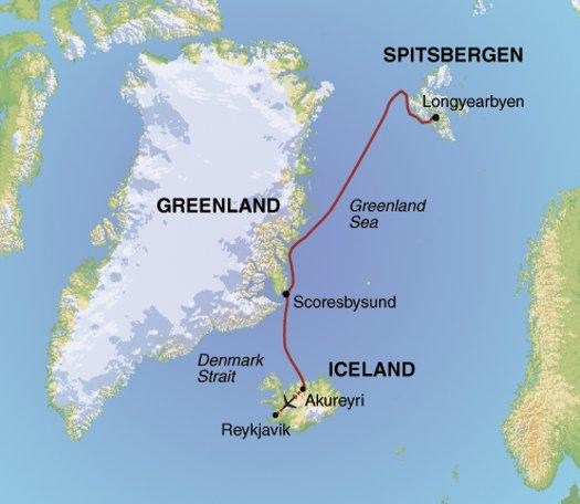 National Parks Wildlife viewing Spitsbergen, Greenland & Iceland package