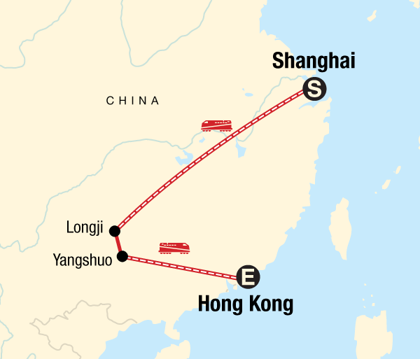 Guilin Hong Kong Classic Shanghai to Hong Kong Adventure Trip
