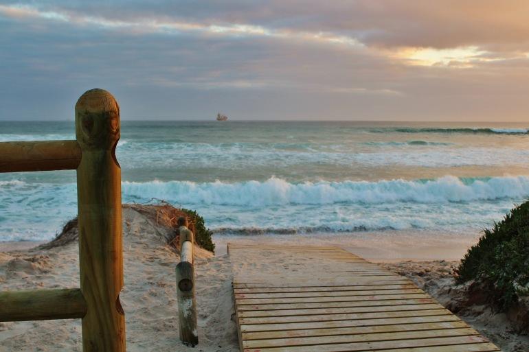 Cape town beach sea-sunset-South Africa-444039_P