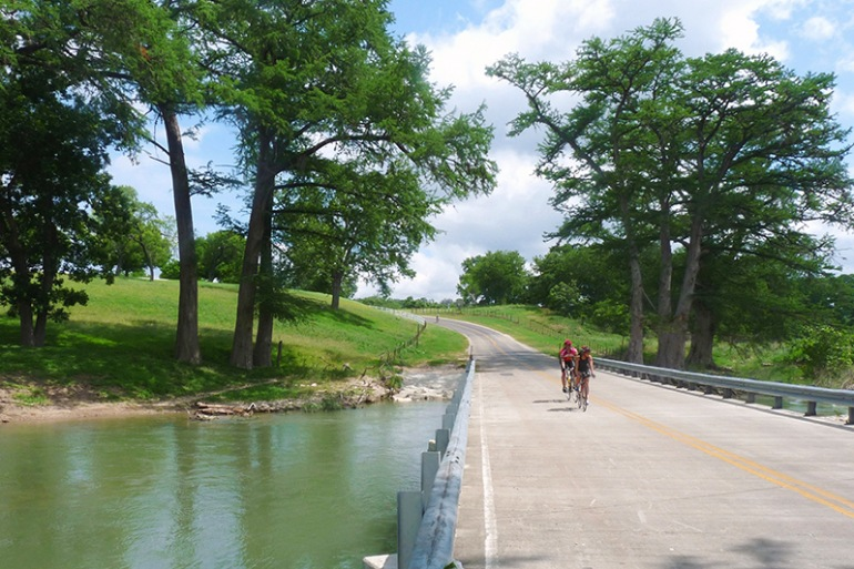 Cycling near the Lake in Texas, United States
