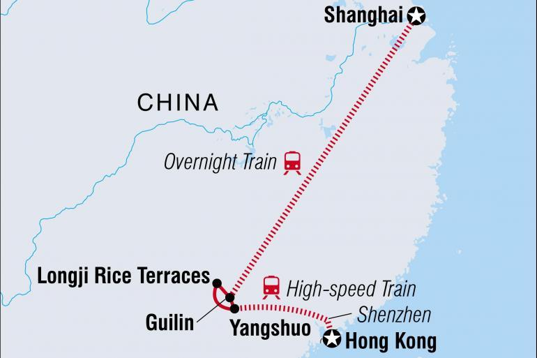 Shanghai Yangshuo South China Getaway Trip