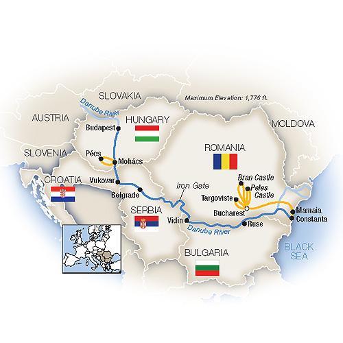 The Black Sea to Budapest - Westbound 2019 tour