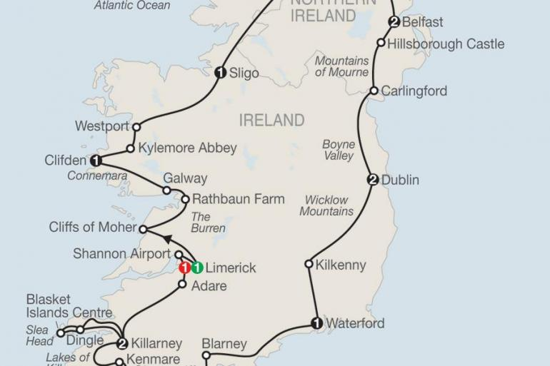 Belfast Connemara Scenic Ireland Trip