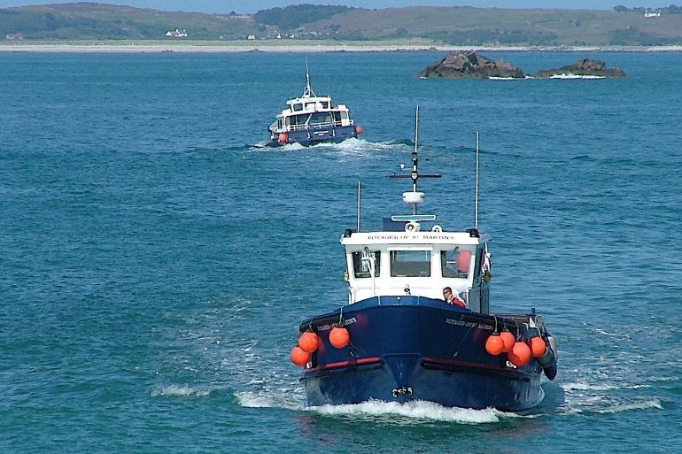 Fishing Boats on Island-England-650542-P
