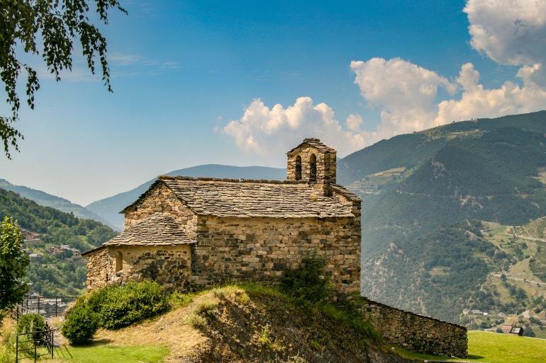 Landscape mountains-Andorra pyreness-3501173-P