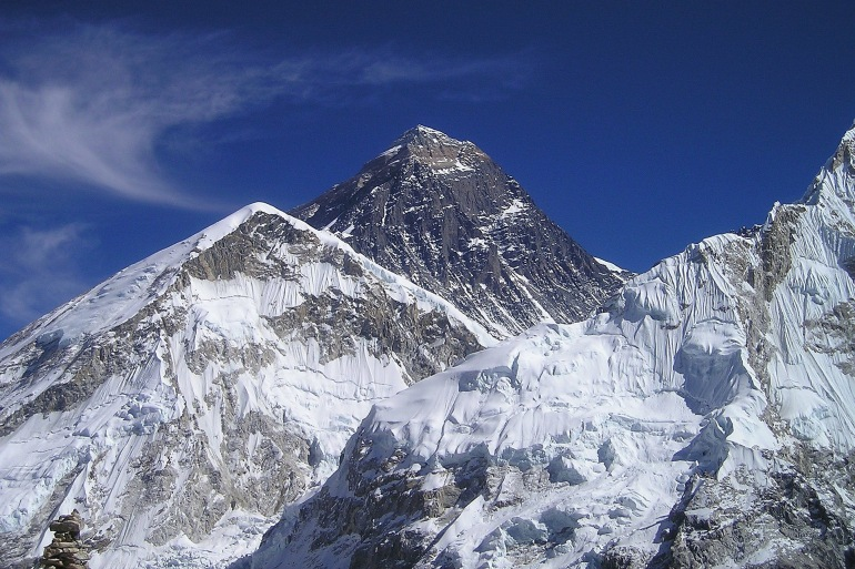 Mount everest himalayas, Nepal