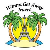 Wanna get away travel logo