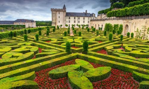 Gardens of Chateau Villandry, France