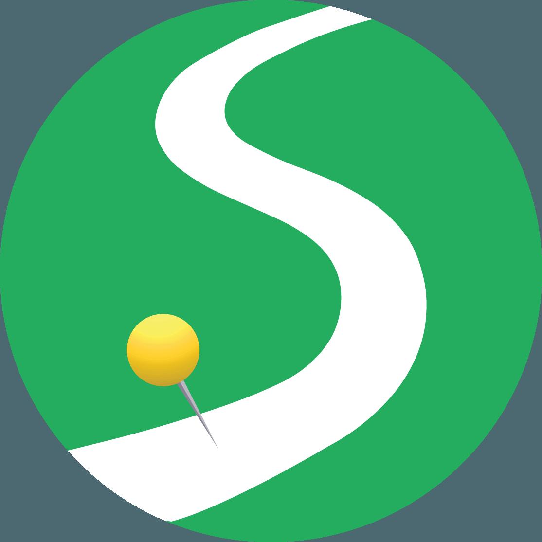Stride Travel Yin Yang Icon
