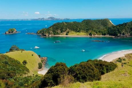 New Zealand–The Bay of Islands tour