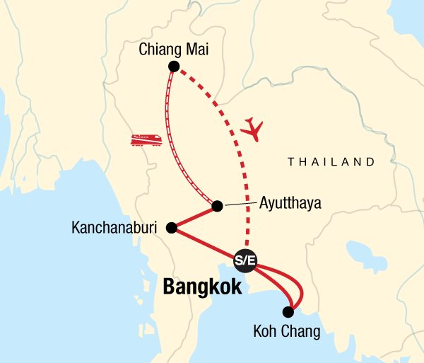 Ayutthaya Bangkok Thailand Family Adventure Trip