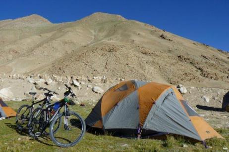 Biking India's Nubra Valley tour