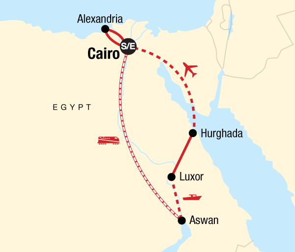 Alexandria Aswan Highlights of Egypt Trip