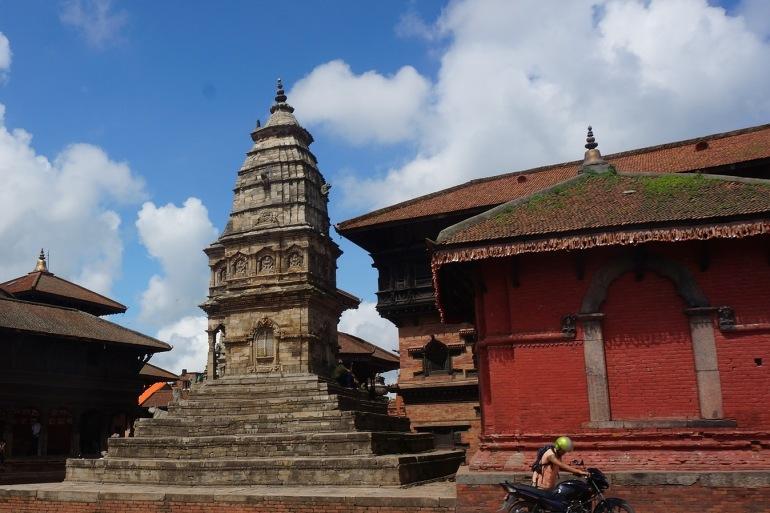 Bhaktapur temple tower, Nepal