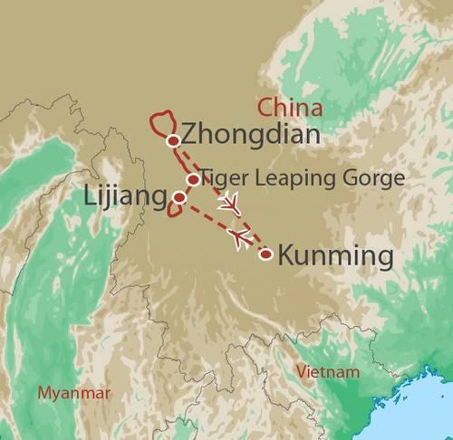 Cultural Culture Yunnan Meili Trek package