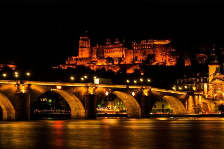Night view of Heidelberg Castle-365015-1920-P