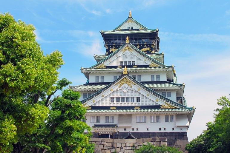 Osaka Castle-Japan-1398125-P