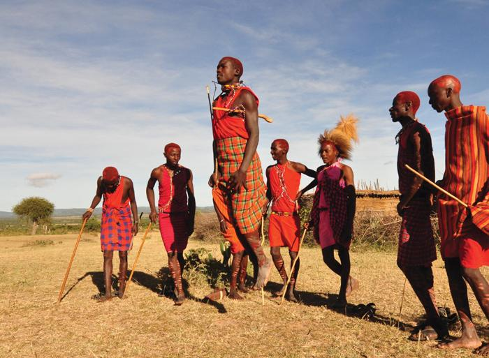 Cultural Relaxing Retreat Masai Mara Walk package