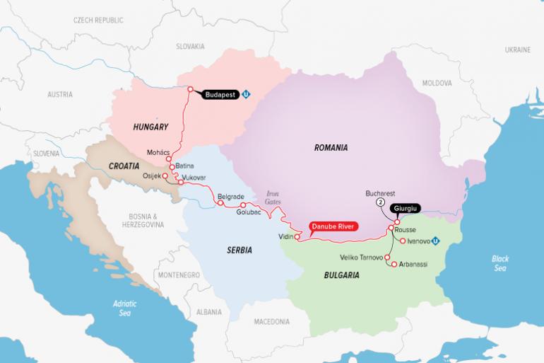 Belgrade Bucharest Highlights of Eastern Europe Trip