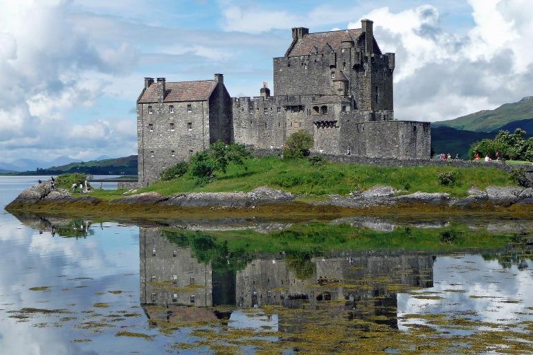 Eilean Donan Castle at Scotland, UK