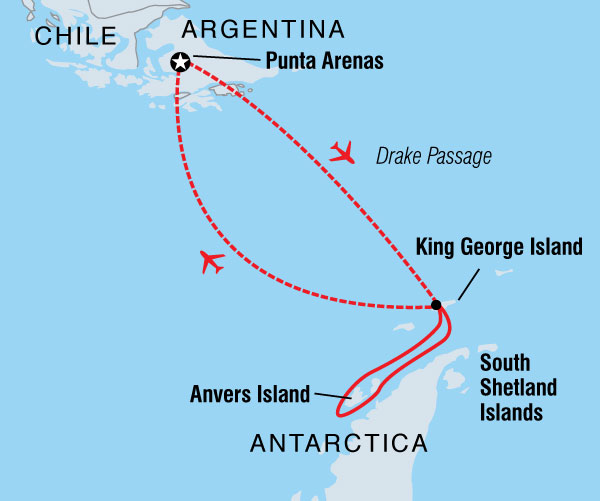 Nature & Wildlife Sailing Antarctic Express: Fly the Drake (Sea Adventurer) 2016 - 2017 package
