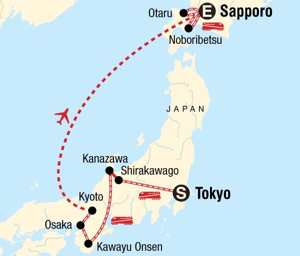 Bath Kanazawa Sapporo Snow Festival & Japan Winter Highlights Trip