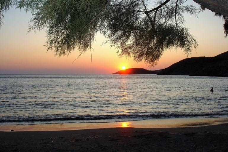 Kythnos Beach Sunset-Greece-731973-p
